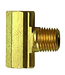 "MB Sturgis 1/4"" Female Inverted x 1/4"" Female Inverted Flare X 1/4"" Male Adapter"