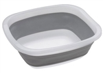 Progressive International CDT-1 Collapsible Tub, Grey