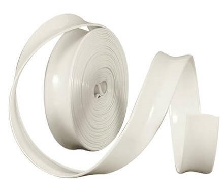 "Camco 25222 Vinyl Trim Insert - 1"" x 100' - Colonial White"