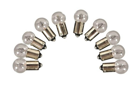 Camco 54714 Replacement Auto Instrument 57 Light Bulb - 10 Pack