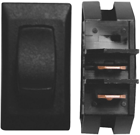 Diamond Group B1-18N On/Off Rocker Switch - Black - 3 Pack