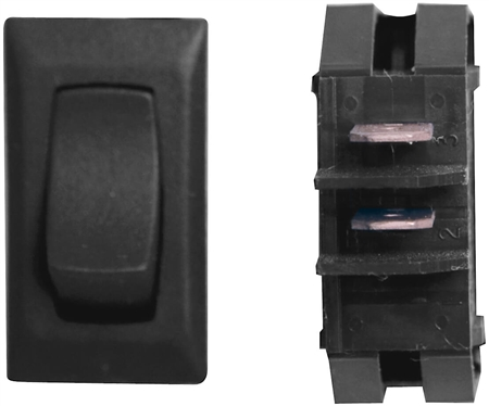 Diamond Group G1-11U SPDT Momentary On/Off Switch - Black - 3 Pack