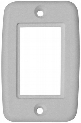 Valterra DG3801VP Exposed Single Switch Plate Cover - White