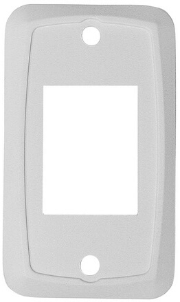 Diamond Group P6601 Heavy Duty Switch Plate Cover - White - 3 Pack