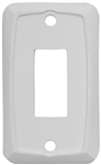 Valterra DG101PB Single Switch Wall Plate - White - 3 Pack