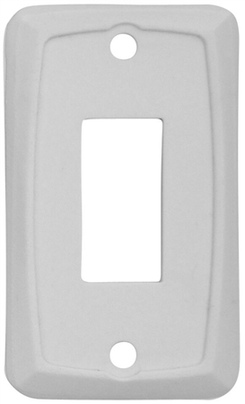 Diamond Group P7158 Single Switch Wall Plate - Ivory - 3 Pack