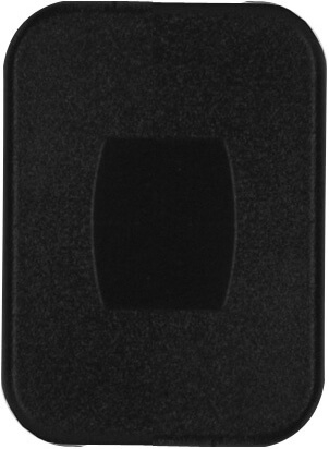 Diamond Group U3-15 Switch Plate Cover - Black Lens