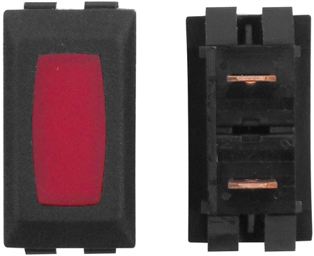 Diamond Group ZU-03-14 12V Power Indicator Lamp - Black/Red - 3 Pack