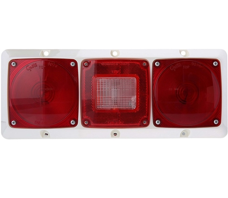 Grote 51342-5 Versalite Rear Lamp Tail Light - Red