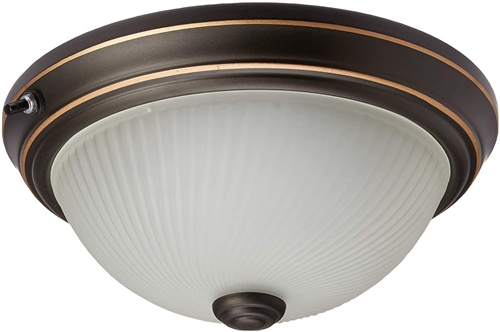 Lasalle Bristol 410129512744RT 12V RV Ceiling Light - 10""