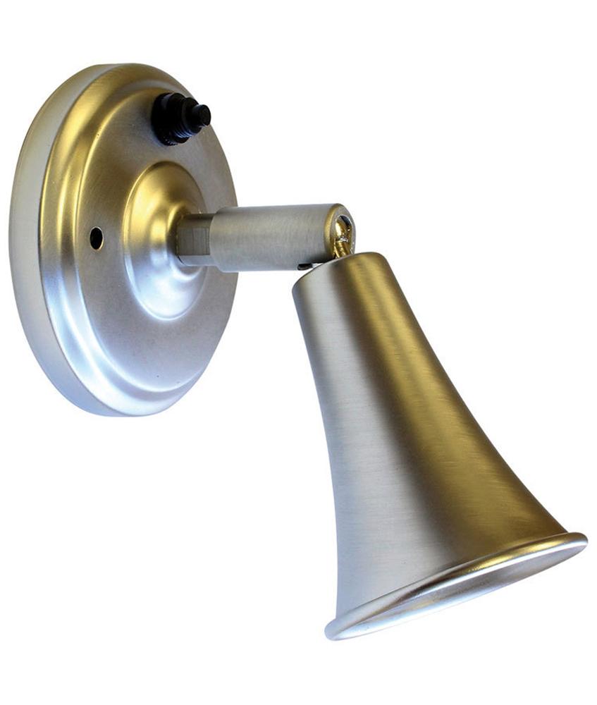Lasalle 410135401401rt Rv 12v Brushed Nickel Spotlight