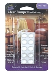 Magic Mounts 3745 Self Sticking Clear Bumpers - 10 Pack