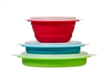 Progressive International CB-20 Collapsible Storage Bowls