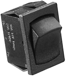 RV Designer S441 10A DC SPST Mon-On/Off Rocker Switch - Black