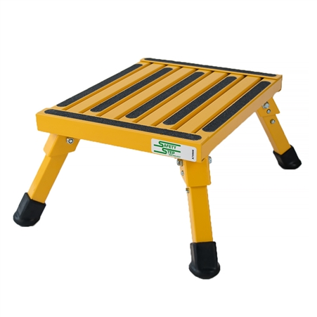 Safety Step S-07C-Y Small Folding Step Stool - Yellow