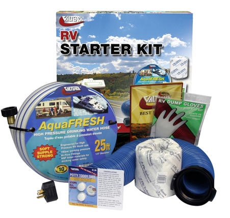 Valterra Standard RV Starter Kit W/Potty Toddy