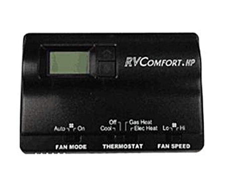 Coleman Mach 8530-3381 Digital Heat Pump RV Thermostat - Black