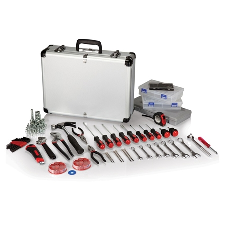 Picnic Time 101-Piece Tool Kit - Silver
