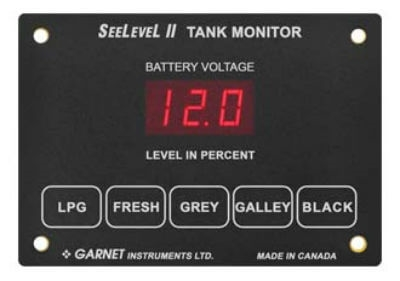 Garnet 709-4LP SeeLevel II Tank Monitoring System - Monitor Only