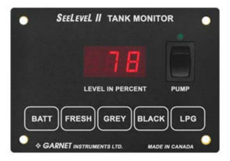 Garnet 709-P3W SeeLevel II Monitor - Monitor Only