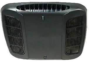 Coleman Mach 9430-4572 Non-Ducted Ceiling Assembly - Plenum Only - Black