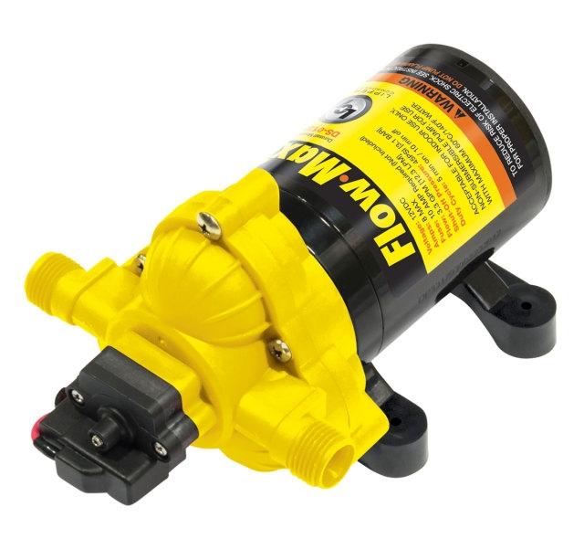 Lippert 689052 Flow Max 3 3 GPM RV Water Pump - 12V
