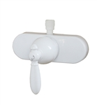 American Brass U-YSL53VBWLVR-E Single Lever Shower Valve - White