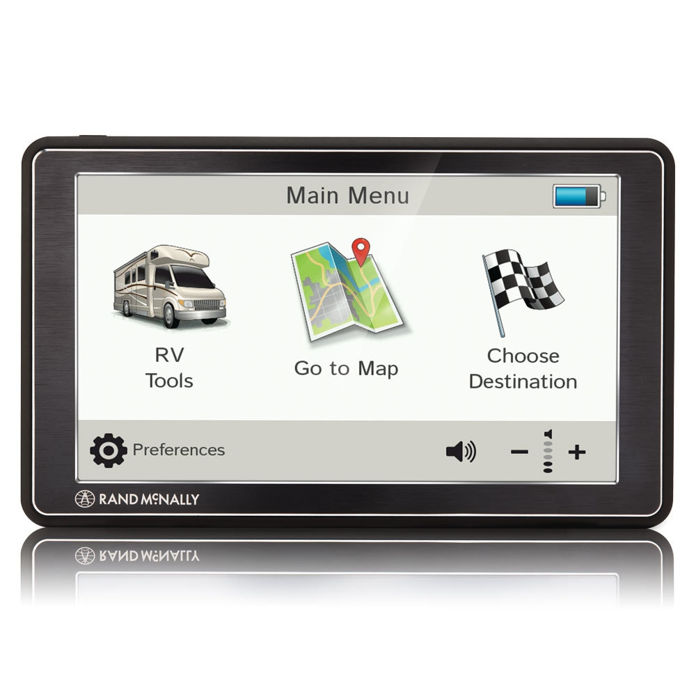 Rand Mcnally Gps >> Rand Mcnally 0528018493 Rvnd 7 Gps