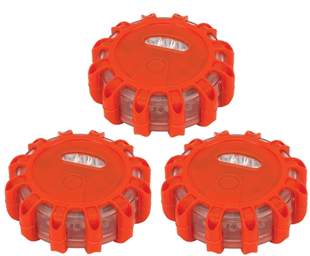 Performance Tool W2343 LED Safety Road Flares - 3 Pack
