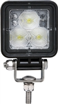Optronics TLL152FSL Opti-Brite Square LED Work Light - 720 Lumens - Clear