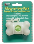 Valterra A10-2003VP Glow-n-Dark Doggy Pick-up Bag Dispenser With Bags