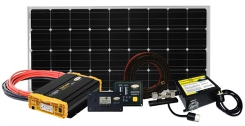 Go Power 82551 Weekender ISW Solar Charging System - 170 Watts