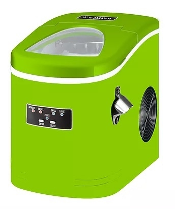 Contoure MAS27-LIME Portable Ice Maker - Lime