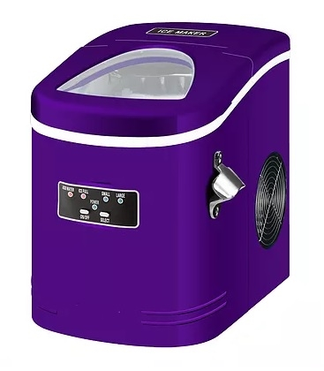 Contoure MAS27-PURPLE Portable Ice Maker - Purple
