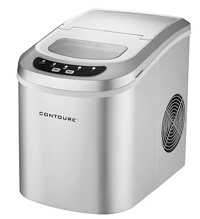 Contoure RV-135Z Portable Ice Maker - Silver