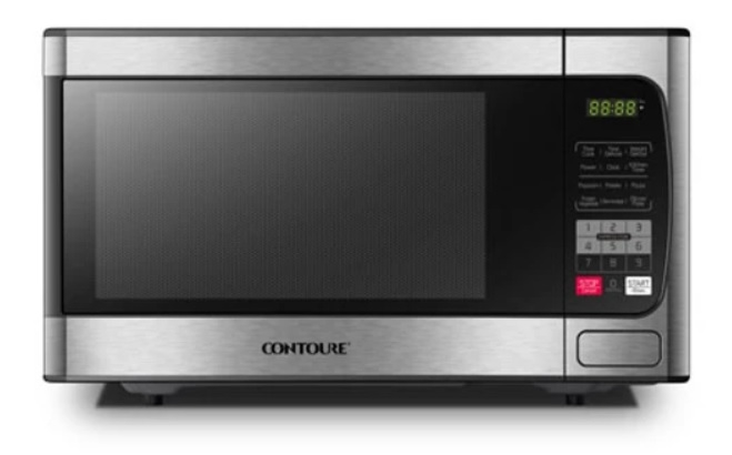 Contoure 1 0 Cu Ft Stainless Steel Microwave Oven