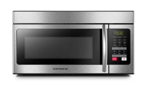 Contoure RV-500-OTR 1.6 Cu. Ft. Stainless Steel Over-the-Range RV Convection Microwave