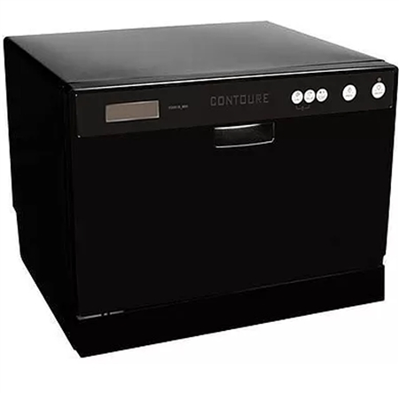 Contoure Rv D2250b Portable Countertop Dishwasher