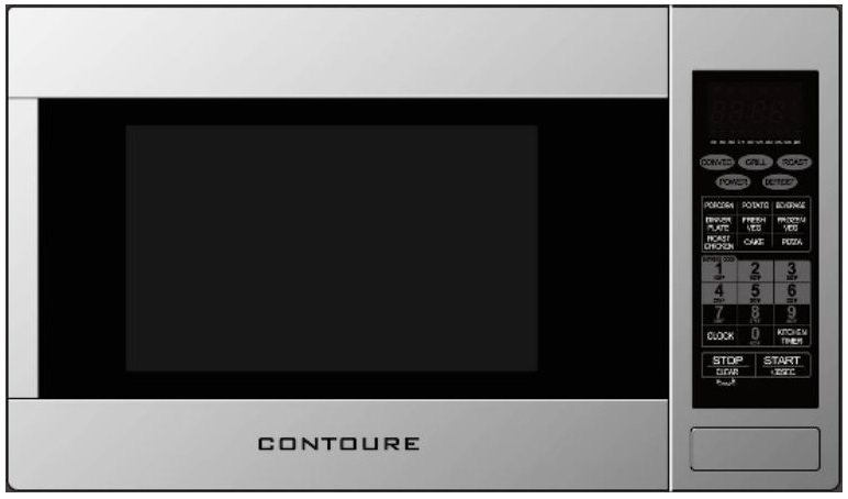 Ft Stainless Steel Convection Rv Microwave