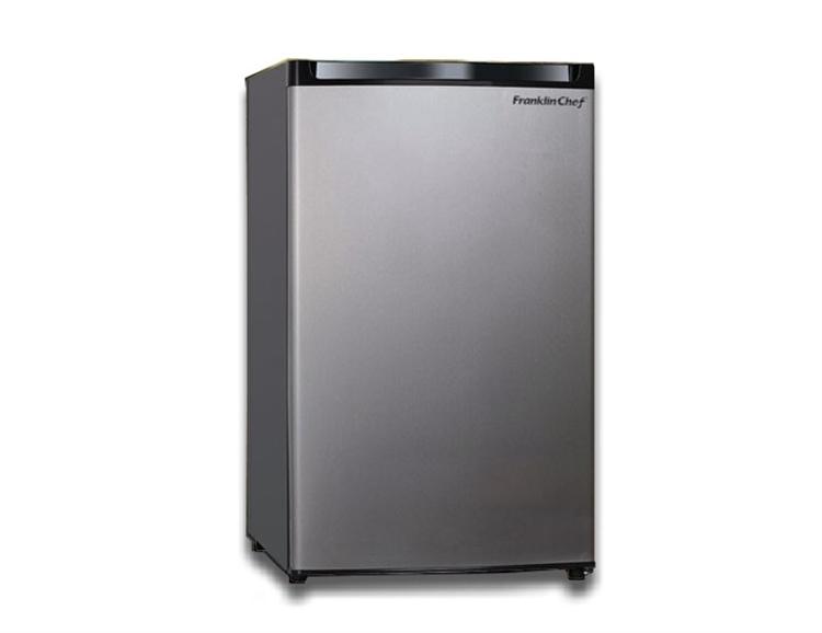 skinny mini fridge