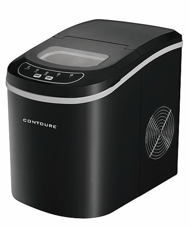 Contoure RV-125B Portable Ice Maker - Black