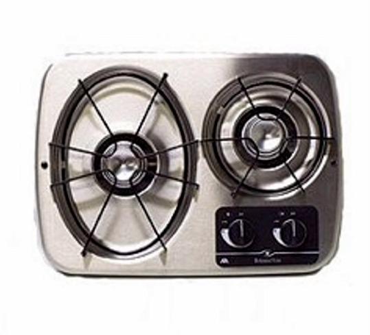 Atwood 56494 Stainless Steel 2 Burner Wedgewood Vision Drop-In Cooktop
