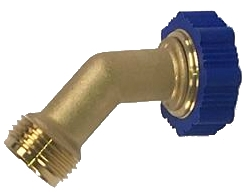 Aqua Pro 21853 Hose Saver Adapter - 45 Degrees