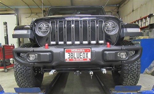 Blue Ox BX1139 2018 Jeep Wrangler Base Plate