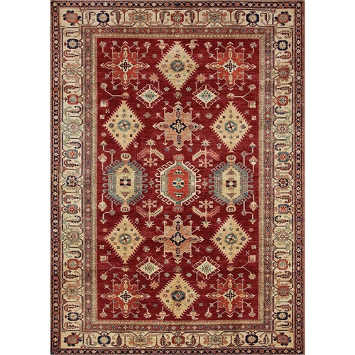 Ruggable 131558 Noor Ruby 3' x 5' Indoor/Outdoor Area Rug