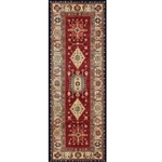 Ruggable 131594 Noor Ruby 2-1/2' x 7' Indoor/Outdoor Area Rug