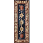 Ruggable 131595 Noor Sapphire 2-1/2' x 7' Indoor/Outdoor Area Rug