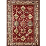 Ruggable 131630 Noor Ruby 5' x 7' Indoor/Outdoor Area Rug
