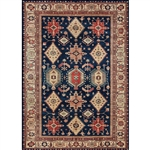 Ruggable 142469 Noor Sapphire 5' x 7' Indoor/Outdoor Area Rug