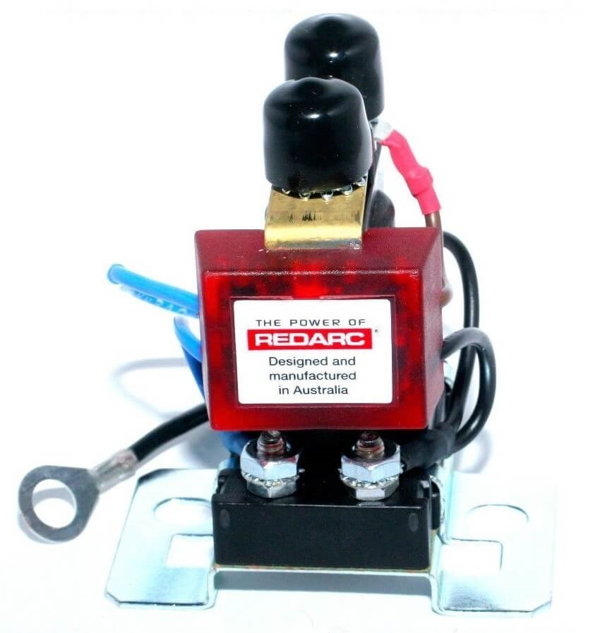 Wondrous Redarc Sbi12D Dual Sensing Smart Battery Isolator 12V 100A Wiring Cloud Hisonuggs Outletorg